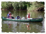 Canoing on the Wye