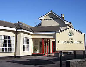The welcome couldn't be warmer at the Chepstow Hotel.