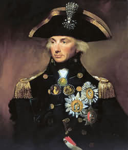Horatio Lord Nelson British admiral who won fame as a leading naval commander