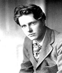 Rupert Brooke one of the Dymock Poets