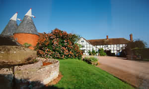 Garford, attractive, listed half-timbered farmhouse