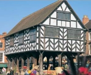 17th century Ledbury Market House