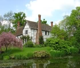 Lower Brockhampton House on the Herefordshire - Worcestershire borders.