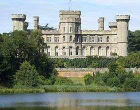 Eastnor Castle, situated in a 5000 acre estate in the Malvern Hills
