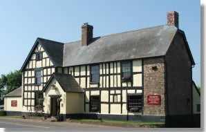 Attractive 16th century coaching Inn just 4 miles from Ross on Wye, 10 miles from Hereford and 9 miles from Monmouth.