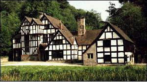 Wythall is a 16th century half-timbered manor house in a secluded and idyllic setting