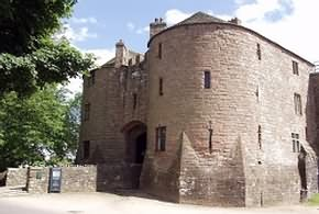 St.Briavels Castle in the Royal Forest of Dean