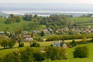 The Village of Littledean in the county of Gloucestershire