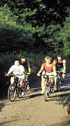 Cycling is just one of the many activities in the Wye Valley