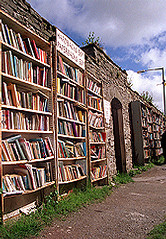 Hay on Wye Book Racks