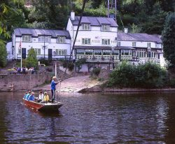 Ferry boat at Symonds Yat West